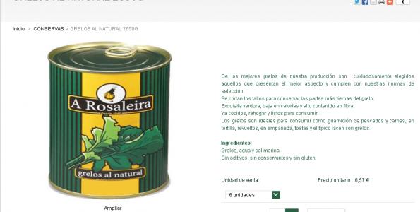A Rosaleira lanza una tienda online