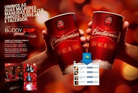 Budweiser presenta el primer brindis social