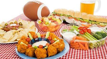 La comida de la Super Bowl y los grandes eventos deportivos norteamericanos