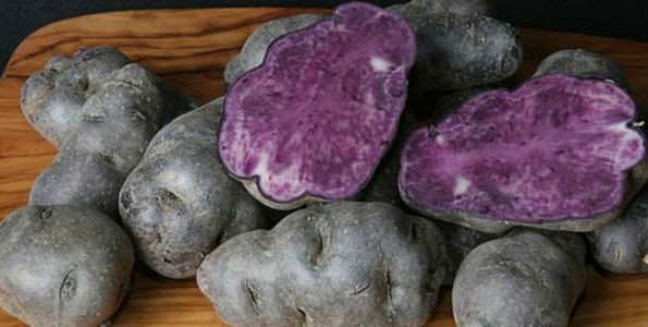 La patata Vitelotte