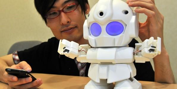Rapiro, un robot que prepara café