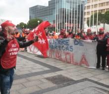 Protestas de los trabajadores de Coca-Cola
