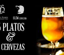 Cervezas y vinos para armonizar los menús del Café del Norte