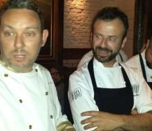 Menú de Albert Adrià y Nacho Manzano en Londres