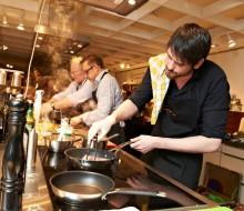 """Los """"masterchef"""" alemanes cocinan en Cádiz"""