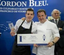 Cristobal Muñoz, ganador del premio Promesas de la Alta Cocina