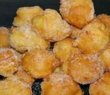 Receta Buñuelos de Viento con crema