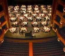 Una cena especial en el escenario del Gran Teatro del Liceo
