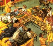 El gusto y la alimentación en la Antigua Roma