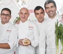 Ramón Freixa cocina para Iberia