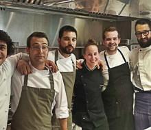 Cuatro cocineros gallegos se juntan en Árbore da Veira