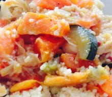 Receta de verduras con cuscús