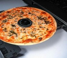 DVDS con olor a pizza