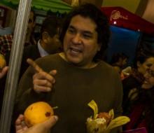 Gastón Acurio en el Gran Mercado de Mistura