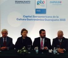 Guanajuato ya es oficialmente Capital Iberoamericana de la Gastronomía