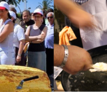 Fin de semana de huevos y solidaridad en Valencia y Jaén