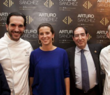 Arturo Sánchez presentó su ibérico de bellota Gran Reserva
