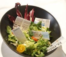 El menú de papel comestible de Firo Vázquez llega a China