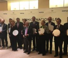 Ceremonia de entrega de los Premios Nacionales de Gastronomía