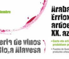 XX Feria de Vinos de Rioja Alavesa