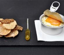 Tortilla española en lata, una propuesta belga para las fiestas de Madrid