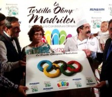 Madrid 2020 ya tiene su tortilla olímpica