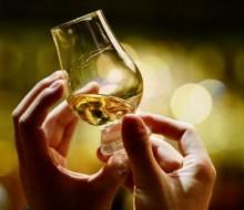 Comer con whisky