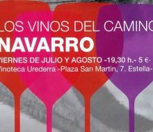 Navarra muestra sus productos a los peregrinos