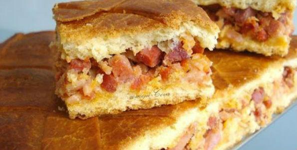 sandwich de jamon serrano con huevo duro