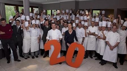 El restaurante Martín Berasategui cumple 20 años