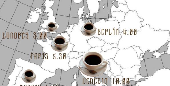 Los cafés más caros de Europa