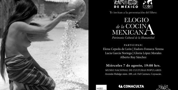 Un libro para difundir la cocina mexicana