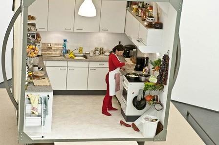 La cocina giratoria de Zeger Reyers