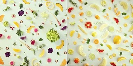 Los collages culinarios de Julie's Kitchen