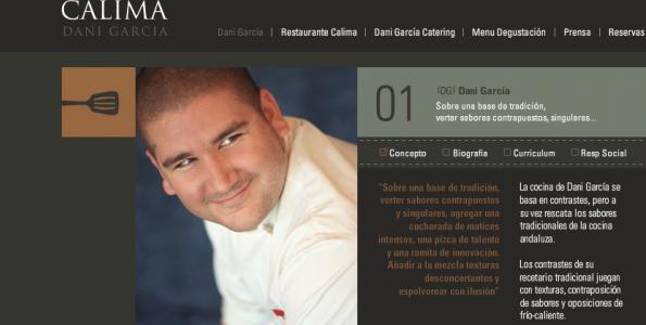 Dani García ofrece una clase magistral con AOVE en Jaén