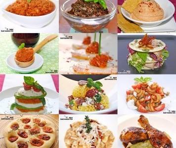 Doce recetas con tomates secos