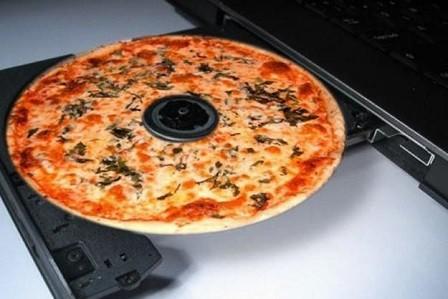 DVDS con olor a pizza