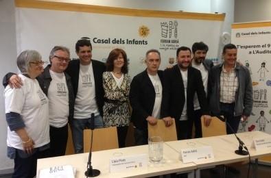 Ferrán Adriá presenta «La Fàbrica de Menjar Solidari»