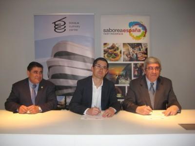 El Basque Culinary Center y Saborea España quieren fomentar la formación gastronómica