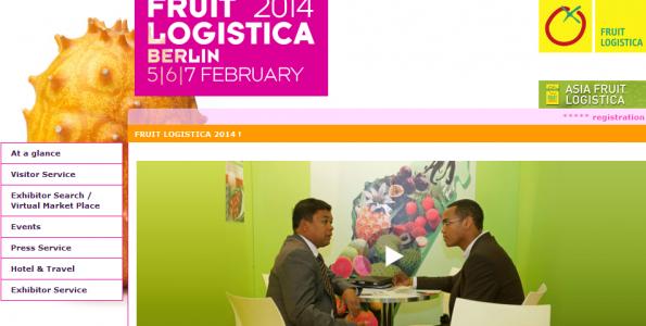 Fruit Logistica calienta motores para su edición 2014