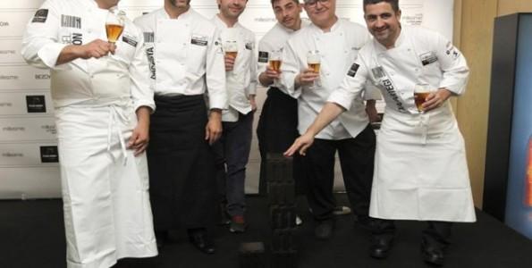 Los seis premiados del Chef Millesime 2013