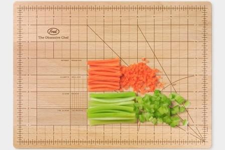 La tabla de cortar ideal para el Chef obsesivo