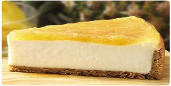 Receta tarta de queso con piña