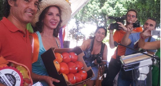 La actriz Victoria Abril paga 300 euros por un tomate