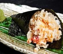 Nuevos platos de Cangrejo Real en 99 Sushi Bar