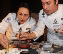 Concursantes de la V semifinal del concurso Cocinero del Año