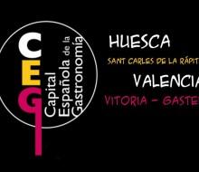 Las candidatas a Capital Española de la Gastronomía