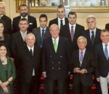 Don Juan Carlos recibe el agradecimiento de la gastronomía