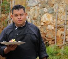 El chef David Quevedo representante de la cocina de Guanajuato