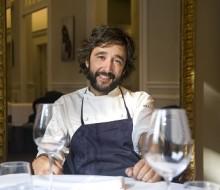 El chef vitoriano Diego Guerrero, embajador de la sal de Añana